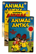"Golden Age (1938-1955):Funny Animal, Animal Antics #16-20 Davis Crippen (""D"" Copy) pedigree Group (DC,1948-49).... (Total: 5 Comic Books)"