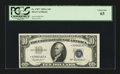 Small Size:Silver Certificates, Fr. 1707* $10 1953A Silver Certificate. PCGS Choice New 63.. ...
