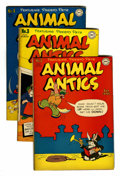 "Golden Age (1938-1955):Funny Animal, Animal Antics #2-5 Davis Crippen (""D"" Copy) pedigree Group (DC,1946).... (Total: 4 Comic Books)"