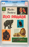 Golden Age (1938-1955):Miscellaneous, Four Color #662 Zoo Parade - File Copy (Dell, 1955) CGC NM 9.4 Off-white pages....