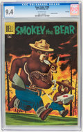 Silver Age (1956-1969):Miscellaneous, Four Color #708 Smokey the Bear - File Copy (Dell, 1956) CGC NM 9.4 Off-white pages....