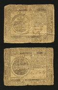 Colonial Notes:Mixed Colonies, Mixed Continentals - 1775 and 1776.. ... (Total: 2 notes)