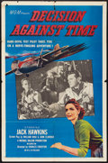 """Movie Posters:Drama, Decision Against Time (MGM, 1957). One Sheet (27"""" X 41""""). Drama.. ..."""