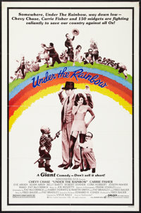 "Under the Rainbow (Orion, 1981). One Sheet (27"" X 41""). Comedy"