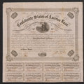 Confederate Notes:Group Lots, Ball 212 Cr. 120 $100 1863 Bond Fine.. ...