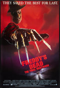 "Movie Posters:Horror, Freddy's Dead: The Final Nightmare Lot (New Line, 1991). One Sheets (4) (27"" X 41"") SS Regular and Advances. Horror.. ... (Total: 4 Items)"