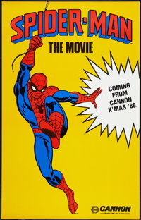 """Spider-Man (Cannon, 1985). Poster (29.5"""" X 46.5""""). Action"""