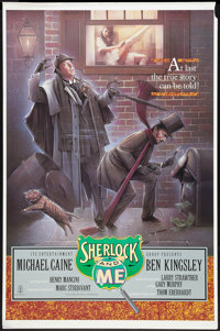 """Without a Clue (ITC, 1988). One Sheet (27"""" X 41""""). Comedy. Also known as Sherlock and Me"""