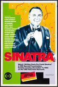 """Movie Posters:Musical, An All Star Party for Frank Sinatra (CBS, 1983). Television Poster (27"""" X 41""""). Miscellaneous.. ..."""