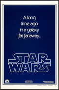 """Movie Posters:Science Fiction, Star Wars (20th Century Fox, 1977). One Sheet (27"""" X 41"""") Advance Style B. Science Fiction.. ..."""