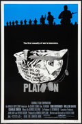 "Movie Posters:War, Platoon (Orion, 1986). One Sheets (3) (27"" X 41"") Regular, AcademyAwards Style, and Review Style. War.. ... (Total: 3 Items)"