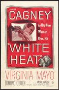 "Movie Posters:Film Noir, White Heat (Warner Brothers, 1949). One Sheet (27"" X 41""). FilmNoir.. ..."