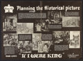 """Movie Posters:Adventure, If I Were King (Paramount, 1938). Study Guide Posters (3) (22"""" X30""""). Adventure.. ... (Total: 3 Items)"""