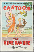 "Movie Posters:Animated, The Blue Danube (MGM, R-1948). One Sheet (27"" X 41""). Animated....."
