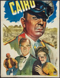 "Movie Posters:War, Five Graves to Cairo (Paramount, 1943). Partial Three Sheet (41"" X53""). War.. ..."