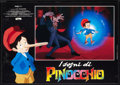 "Movie Posters:Animated, Pinocchio and the Emperor of the Night (Filmation, 1989). ItalianPhotobustas (6) (18.5"" X 26.25""). Animated.. ... (Total: 6 Items)"