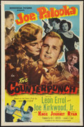 "Movie Posters:Sports, Joe Palooka in the Counterpunch (Monogram, 1949). One Sheet (27"" X 41""). Sports.. ..."