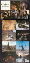 "Movie Posters:Action, Conan the Barbarian (Universal, 1982). Standees (2) (33.5"" x 63"").Action.. ... (Total: 2 Items)"