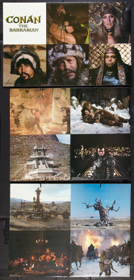 """Conan the Barbarian (Universal, 1982). Standees (2) (33.5"""" x 63""""). Action. ... (Total: 2 Items)"""