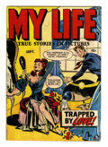 Golden Age (1938-1955):Romance, My Life #4 (#1) (Fox Features Syndicate, 1948) Condition: VG+....