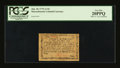 Colonial Notes:Massachusetts, Massachusetts June 18, 1776 1s/3d PCGS Very Fine 20PPQ....