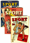 Golden Age (1938-1955):Non-Fiction, True Sport Picture Stories Group (Street & Smith, 1942-45)Condition: Average VG+.... (Total: 5 Item)