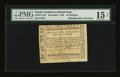 Colonial Notes:North Carolina, North Carolina December, 1768 2s/6d PMG Net Choice Fine 15....