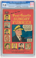 Golden Age (1938-1955):Miscellaneous, Meet the New Post-Gazette Sunday Funnies #nn (Pittsburgh Post, 1949) CGC FN/VF 7.0 Cream to off-white pages....