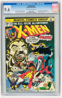 X-Men #94 (Marvel, 1975) CGC NM+ 9.6 Off-white to white pages