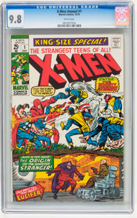 X-Men Annual #1 (Marvel, 1970) CGC NM/MT 9.8 White pages