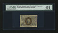 Fractional Currency:Second Issue, Fr. 1283 25c Second Issue PMG Choice Uncirculated 64....