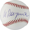 Movie/TV Memorabilia:Autographs and Signed Items, Mikhail Baryshnikov Signed Baseball....
