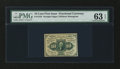 Fractional Currency:First Issue, Fr. 1243 10c First Issue PMG Choice Uncirculated 63 EPQ....