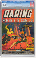 Golden Age (1938-1955):Superhero, Daring Mystery Comics #1 Kansas City pedigree (Timely, 1940) CGC FN- 5.5 Off-white pages....