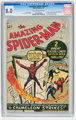 The Amazing Spider-Man #1 (Marvel, 1963) CGC VF 8.0 Off-white to white pages