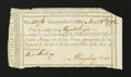 Colonial Notes:Connecticut, Connecticut Interest Payment Certificate. March 8, 1792. ChoiceAbout New....