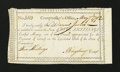 Colonial Notes:Connecticut, Connecticut Interest Payment Certificate. May 7, 1792. Choice AboutNew....