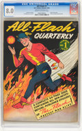 Golden Age (1938-1955):Superhero, All-Flash #1 (DC, 1941) CGC VF 8.0 Cream to off-white pages. ...