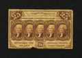 Fractional Currency:First Issue, Fr. 1280 25c First Issue Very Fine+....