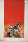 Original Comic Art:Covers, Gil Cohen Paperback Book Cover Illustration Original Art(undated)....