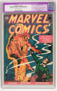 Marvel Comics #1 (Timely, 1939) CGC Apparent VF/NM 9.0 Moderate (P) Cream to off-white pages