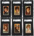 "Non-Sport Cards:Sets, 1915-20 T82 Recruit ""Actors & Actresses"" Complete Set (50). ..."