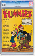 Platinum Age (1897-1937):Miscellaneous, The Funnies #10 Lost Valley pedigree (Dell, 1937) CGC FN 6.0 Creamto off-white pages....