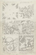 Original Comic Art:Panel Pages, Jack Kirby Thor Pencil Page Original Art (1969)....