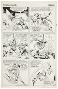 Original Comic Art:Panel Pages, Steve Ditko Amazing Spider-Man #10 page 17 Original Art(Marvel, 1964)....