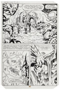 Original Comic Art:Panel Pages, Jack Kirby and Mike Thibodeaux Captain Victory and the GalacticRangers #5 page 11 Original Art (Pacific Comics, 1...