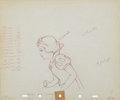 Animation Art:Production Drawing, Snow White Animation Production Drawing Original Art(Disney, 1937)....