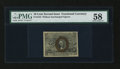 Fractional Currency:Second Issue, Fr. 1244 10¢ Second Issue PMG Choice About Unc 58....