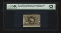 Fractional Currency:Second Issue, Fr. 1289 25c Second Issue PMG Uncirculated 62 EPQ....