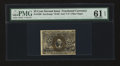 Fractional Currency:Second Issue, Fr. 1290 25c Second Issue PMG Uncirculated 61 EPQ....